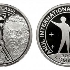 MEDALIE BNR 2009 GALILEO GALILEI  ARGINT UNC  PROOF 1000 EXEMPLARE