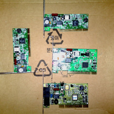 Lot 4 x modem pci