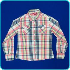 Camasa bumbac, FRUMOASA, mâneci reglabile, SPRIDER _ fete | 7-8 ani | 122-128 cm, Marime: Alta, Culoare: Multicolor