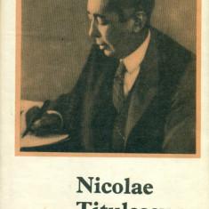Nicolae Titulescu - Ion M.Oprea - Istorie