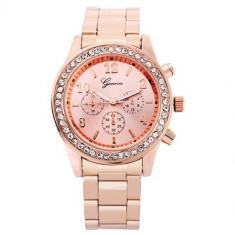 Ceas de mana pentru dama aspect elegant, Fashion, Mecanic-Automatic, Inox