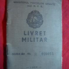Livret Militar 1958 - Diploma/Certificat