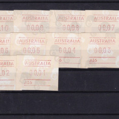AUSTRALIA, MARCI POSTALE EMISE DE AUTOMAT - Timbre straine, Lituania, Nestampilat