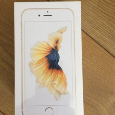 IPHONE 6S 16GB GOLD / AURIU SIGILAT !! 0 MIN !! NEVERLOCKED !! GARANTIE 2 ANI ! - Telefon iPhone Apple, Neblocat