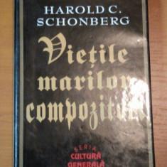 VIETILE MARILOR COMPOZITORI-HAROLD C. SCHONBERG - Muzica Dance