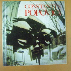 Constantin Popovici sculptura pictura grafica catalog expozitie Bucuresti 1985