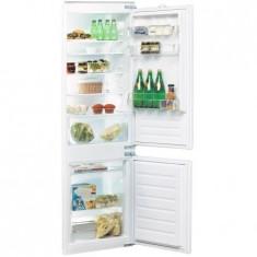 Combina frigorifica incorporabila Whirlpool ART 6502A+, 275 l, Clasa A+, H 177 cm, Alb