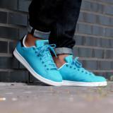 Adidasi Originali Adidas STAN SMITH, Autentici, Noi, Marime 44 2/3 ! - Adidasi barbati, Culoare: Din imagine, Textil