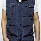Vesta tip Zara Man - vesta bleumarin vesta groasa vesta varbat vesta slim cod 56 - Vesta barbati, Marime: XL, XXL, Culoare: Din imagine, Sport