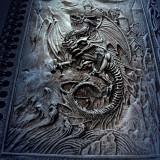 Agendă / Jurnal cu coperți din rășină Regatul dragonilor