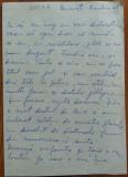 Scrisoare olografa a lui Zoe Dumitrescu Busulenga , 1968 , 2 pagini