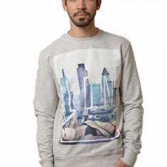 Bluza barbateasca gri - City Life - Bluza barbati, Marime: XS