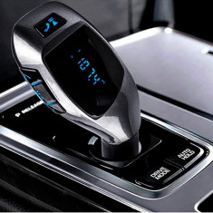 Modulator FM cu Bluetooth sistem maini libere | HandsFree - Modulator FM auto, Modulator FM Stereo