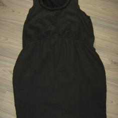 Rochie BRUUNS BAZAAR retail 250 de euro S/M matase naturala megapret pana 1.05 - Rochie de zi, Culoare: Din imagine, Fara maneca