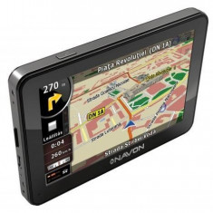 NavOn N490i iGO8 GPS, 4, 3, Toata Europa, Receiver GPS USB, 12 canale, Redare audio: 1