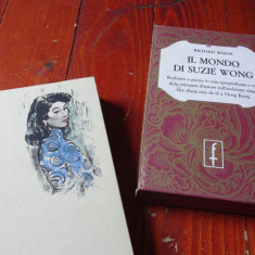 Carte L. Italiana - Il mondo di Suzie Wong de Richard Mason an 1961 / 592 pag ! - Carte in italiana