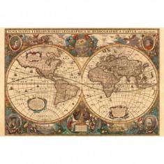Puzzle Harta Antica a Lumii, 5000 piese Ravensburger