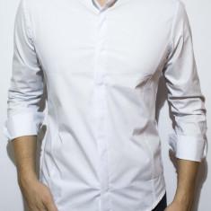 Camasa - camasa alba camasa slim fit camasa tunica camasa barbat cod 58