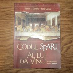 Codul spart al lui Da Vinci de Peter Jones, Jamps Garlow - Roman