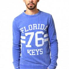 Bluza barbateasca bleumarin - Florida - Bluza barbati, Marime: S, M, L