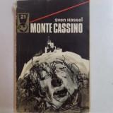 MONTE CASSINO de SVEN HASSEL, 1974 - Carte in alte limbi straine
