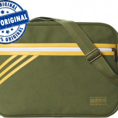 Geanta Adidas Originals Airliner - geanta originala - livrare din stoc - Geanta Barbati Adidas, Marime: Masura unica, Culoare: Din imagine