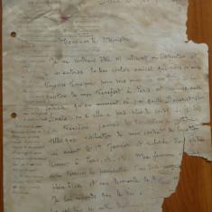 Doc. al Legatiei Romaniei din Germania scris si semnat de Grigore I. Ghika ,1895
