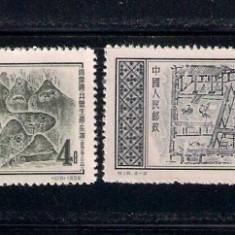 CHINA 1956 - MICHEL 319 -322 SERIE COMPLETA STAMPILATA - Timbre straine