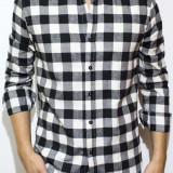 Camasa tip Zara -camasa lunga camasa slim fit camasa groasa camasa barbat cod 57