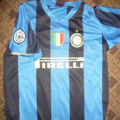 Tricou vechi Fotbal - Echipa Internationale Milano, masura L la copii - Tricou echipa fotbal, Marime: L, Culoare: Albastru