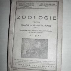 ZOOLOGIE, CLASA 1 //1947 - Carte Zoologie