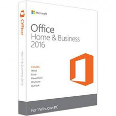 Microsoft Office Home and Business 2016 Win English EuroZone Medialess - Solutii business