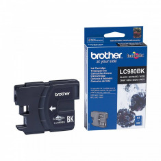 Cartus cerneala Brother LC980BK 300 pag black - Cartus imprimanta