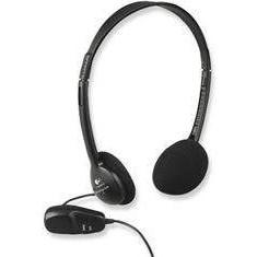 Casti Logitech Over-Head Dialog 220 Black, Casti On Ear, Cu fir, Mufa 3, 5mm