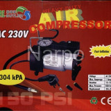 Compresor auto 220V metalic 150PSI 35L/min 1034kPA