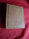 Placheta Torquato Tasso argint macat 988 , certificat garantie ,52g,d= 5cm 1995