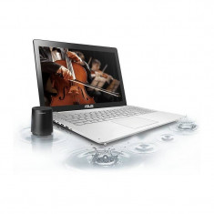 Laptop Asus N751JK-T7085P 17.3 inch Full HD Intel Core i7-4710HQ 8GB DDR3 1TB HDD nVidia GeForce GTX 850 4GB Windows 8.1 Pro Silver