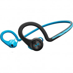 Casti wireless Plantronics BackBeat FIT Blue, Casti In Ear, Bluetooth, Active Noise Cancelling