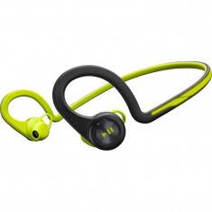 Casti wireless Plantronics BackBeat FIT Green, Casti In Ear, Bluetooth, Active Noise Cancelling