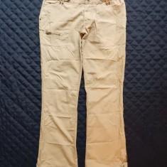Pantaloni Tommy Hilfiger Denim Singapore Pant Clay Dunes; marime 28, vezi dim. - Pantaloni dama, Culoare: Din imagine