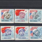 ROMANIA 1964, LP 576, NAVIGATIA COSMICA DANTELATE SERIE MNH - Timbre Romania, Nestampilat