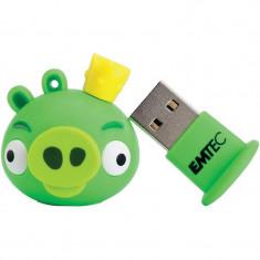 Memorie USB Emtec Angry Birds King Pig 8GB USB 2.0 - Stick USB