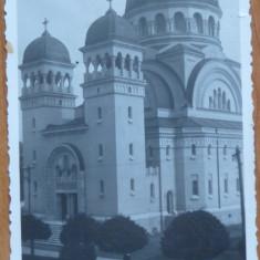 Satu Mare, Catedrala, CP scrisa de Mircea Vulcanescu catre sotia sa, 1939 - Autograf