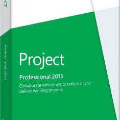 Microsoft Project Professional 2013 32/64-bit romana Medialess - FPP - Aplicatie PC