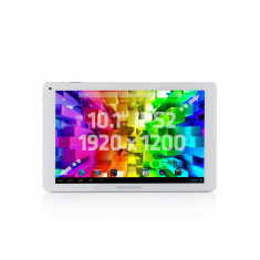 Tableta Modecom FreeTAB 1017 10.1 inch RockChip 3188 1.6 GHz Quad Core 2GB RAM 16GB flash Android 4.2 Silver, Wi-Fi