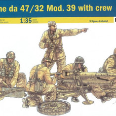 + Macheta Italeri 6490 - Cannone da 47/32 Mod. 39 with crew + - Macheta auto
