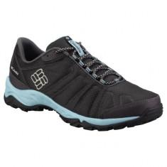 Pantofi sport pentru dame Columbia Firecamp Black (CLM-BL3900-BCK) - Adidasi dama Columbia, Culoare: Negru, Marime: 40