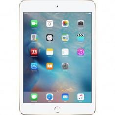 Tableta Apple iPad Mini 4 16GB 4G Gold, Auriu, Wi-Fi + 4G