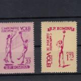 ROMANIA 1955, LP 387, VOLEI, SERIE MNH, LOT 1 RO - Timbre Romania, Nestampilat