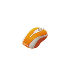Mouse Logilink Mini Optical Orange, USB